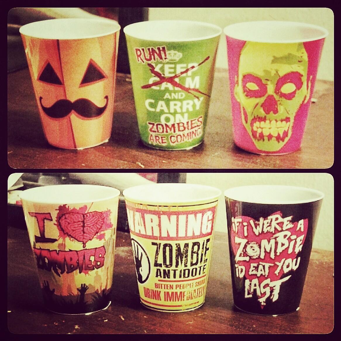 halloween shots