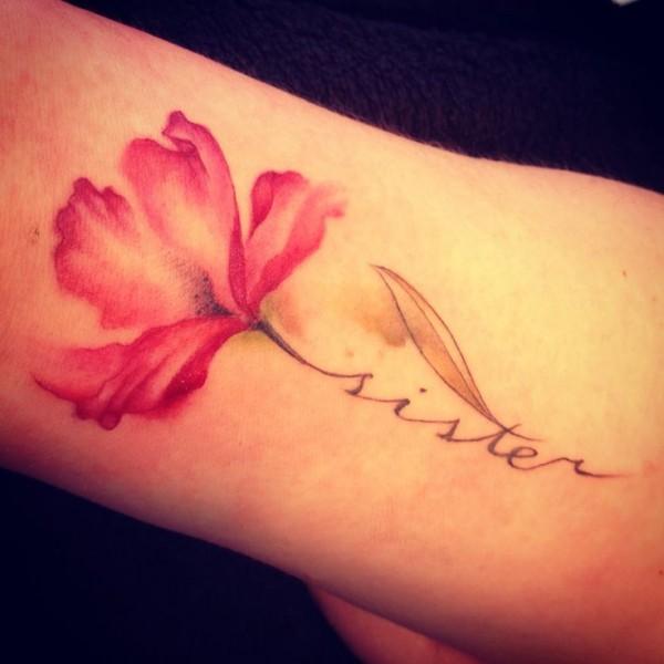 hermana tatuaje