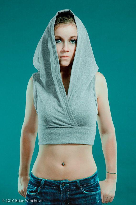 hoodie -crop