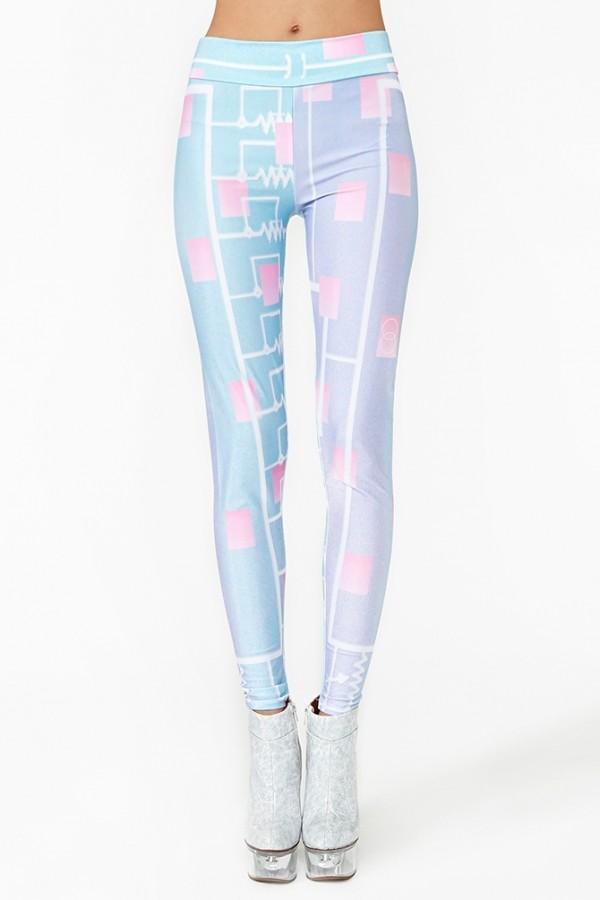 jeans pastel