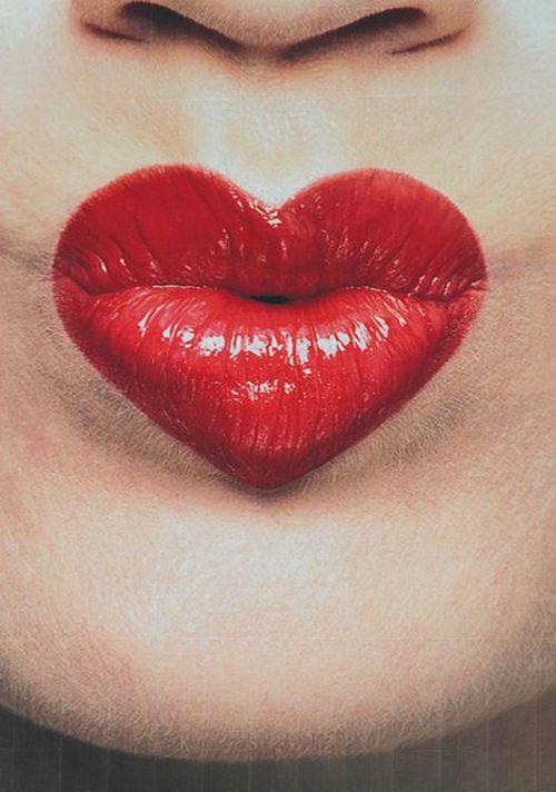 labios corazon