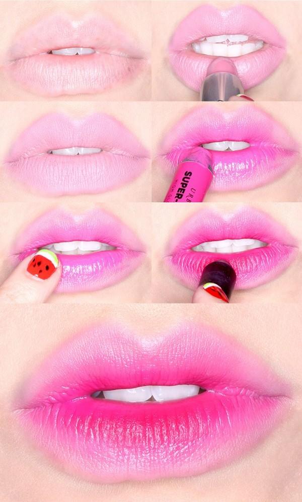 labios rosas
