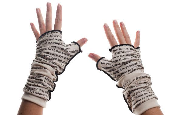 letras guantes