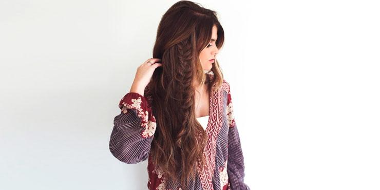 peinados rpidos y sencillos para chicas con el cabello extra largo