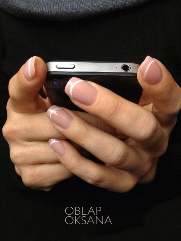 manicure frances natural