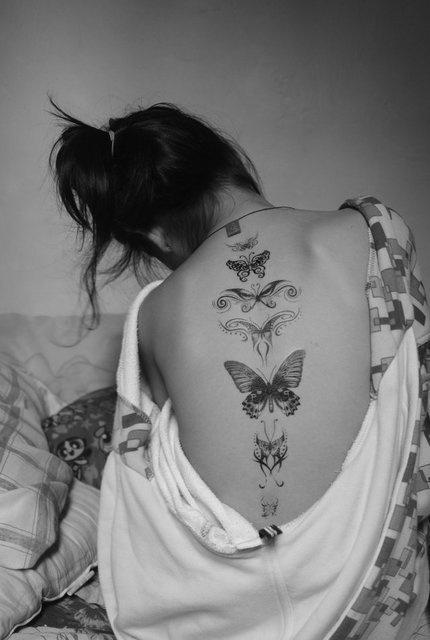 mariposas tatuajes