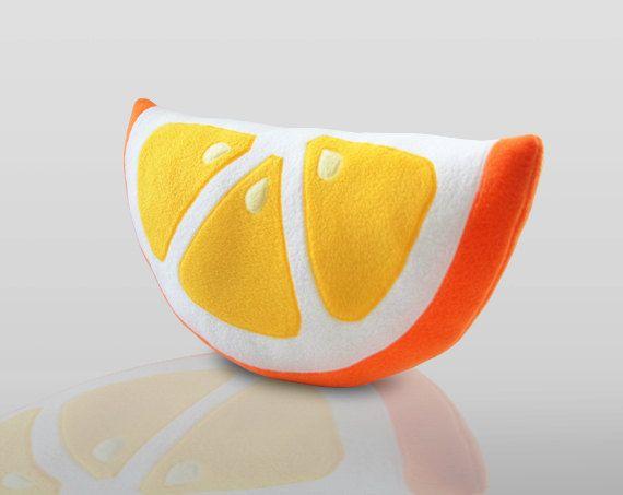 naranja almohada