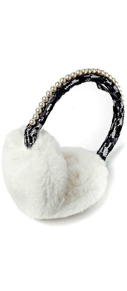 orejeras blancas