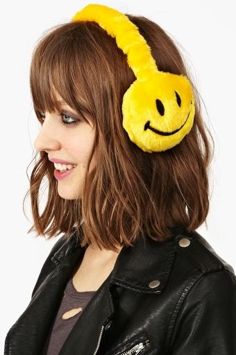 orejeras carita feliz