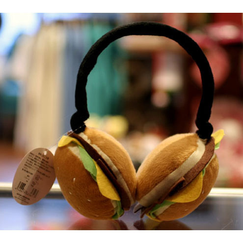 orejeras hamburguesas