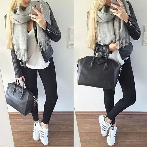 outfits bufanda