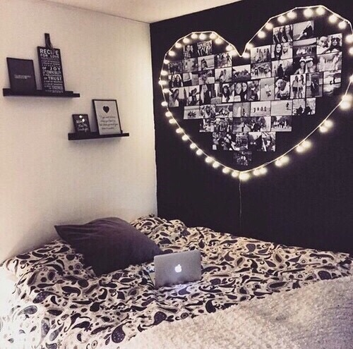 pared negra room