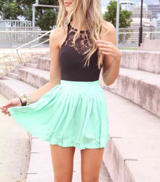 pastel falda