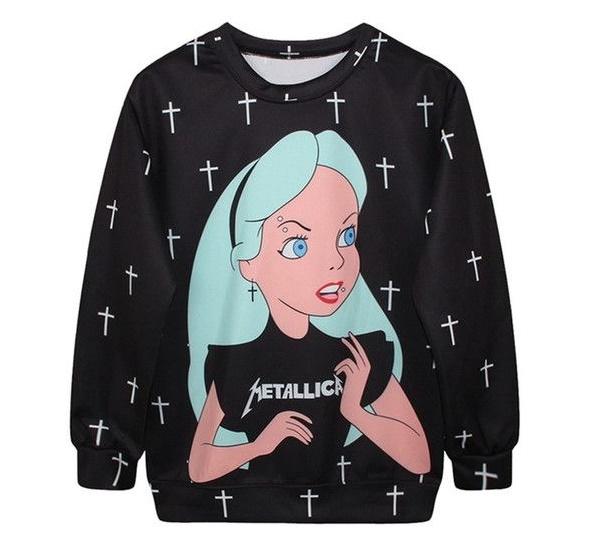 pastel goth hoodie