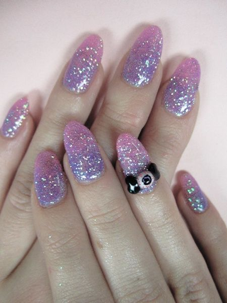 pastel goth-nails