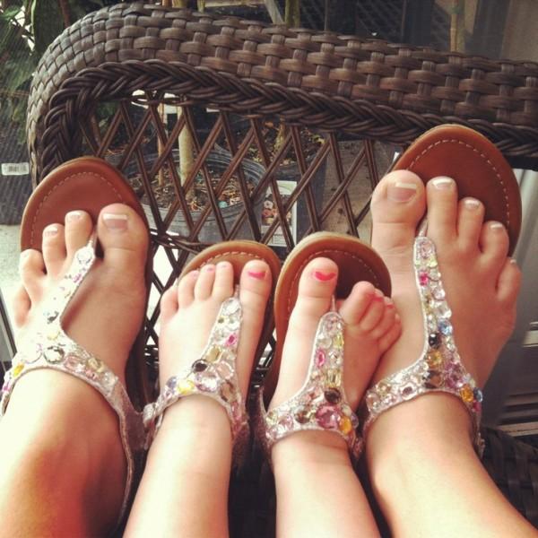 pies iguales