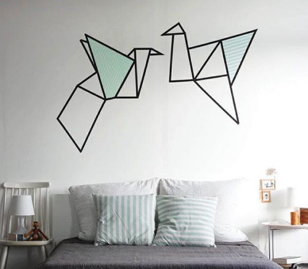 15 creativas ideas para pintar la pared de tu rec mara - Como pinto mi habitacion ...