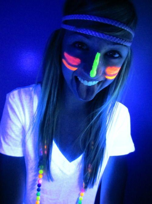 pintura neon