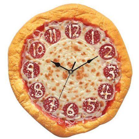 pizza reloj