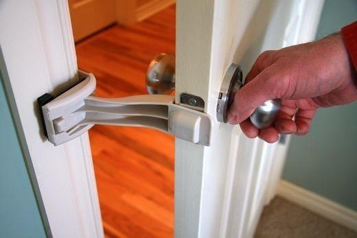 puerta seguro