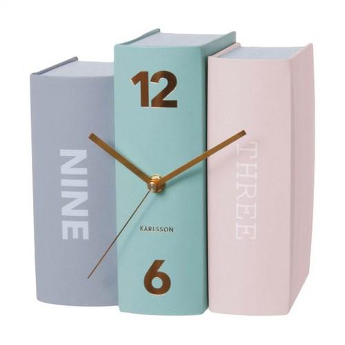 reloj libros