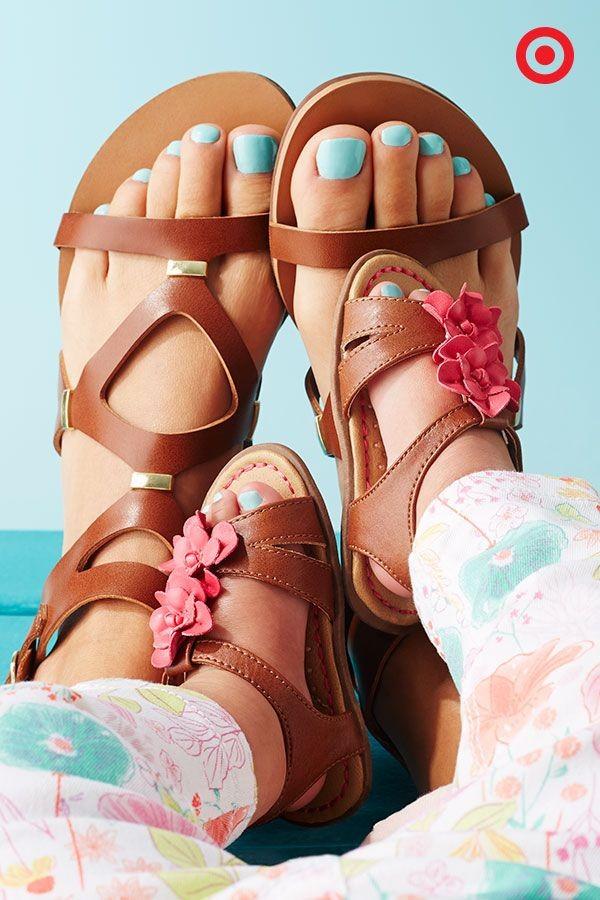 sandalias cute
