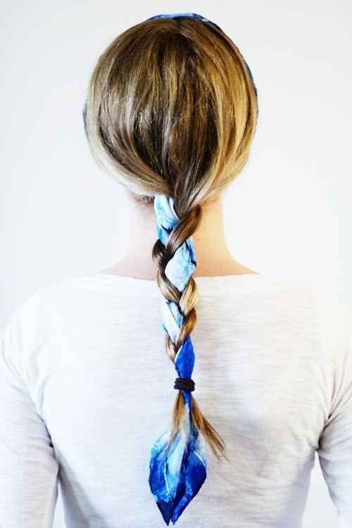 scarf braid