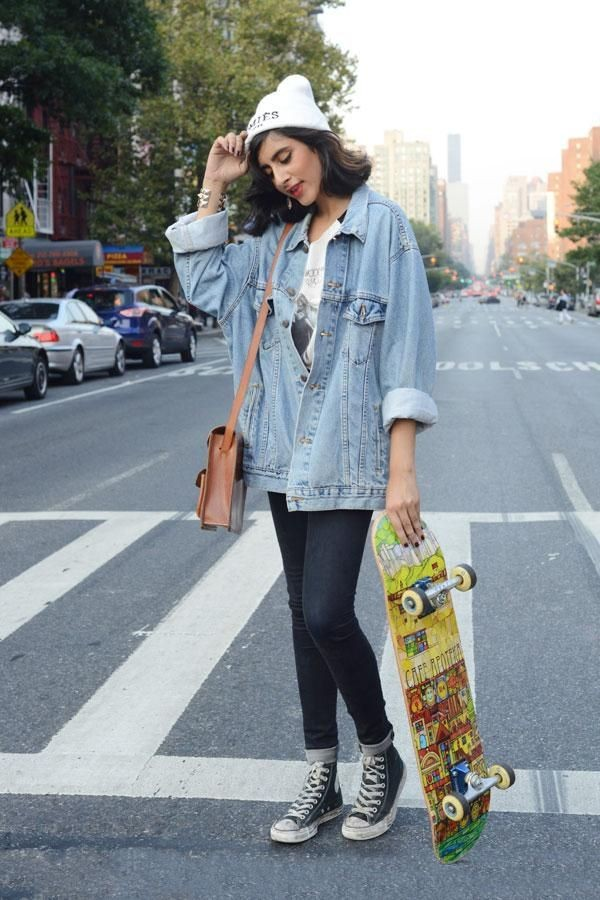 How to Dress Like a Skater Girl (with Pictures) - wikiHow