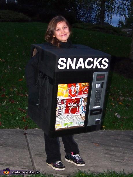 snacks maquina disfraz