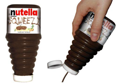 squeezy nutella