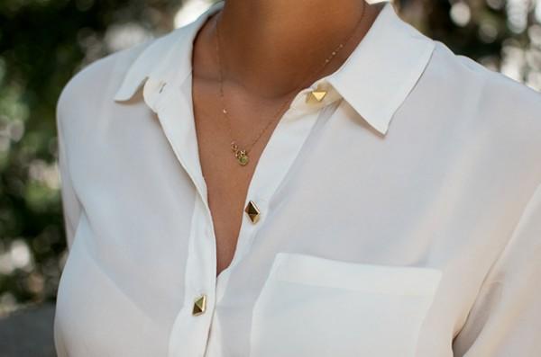 tachuelas blusa