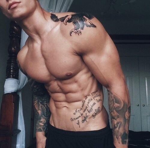 tatuaje oblicuo
