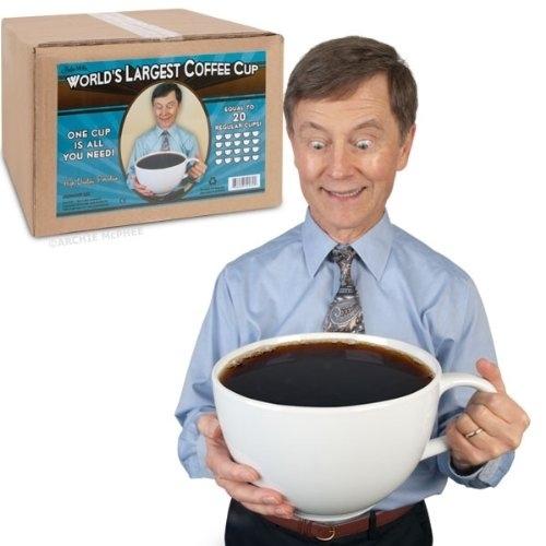 taza cafe enorme