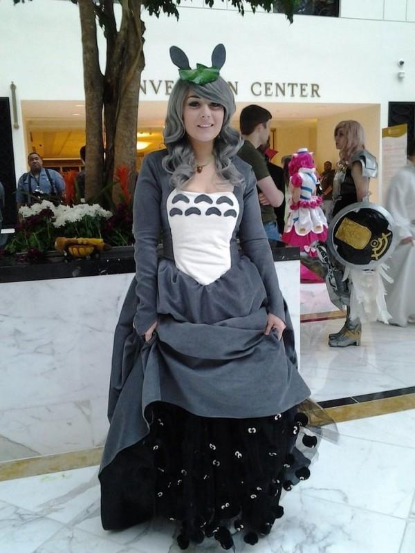 totoro vestido