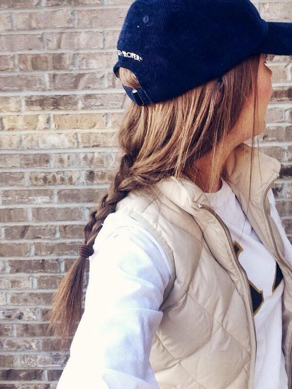 trenza gorra
