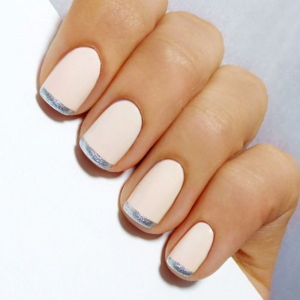 20 Disenos Para Hacerle A Tus Unas Un Manicure Frances - Como-pintar-uas-francesas