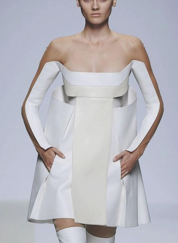 vestido futurista