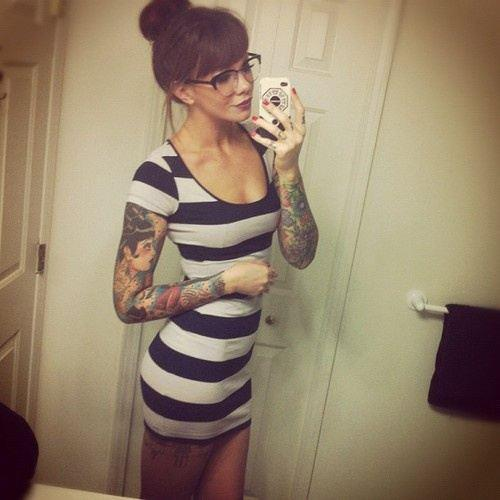 vestido tatuaje