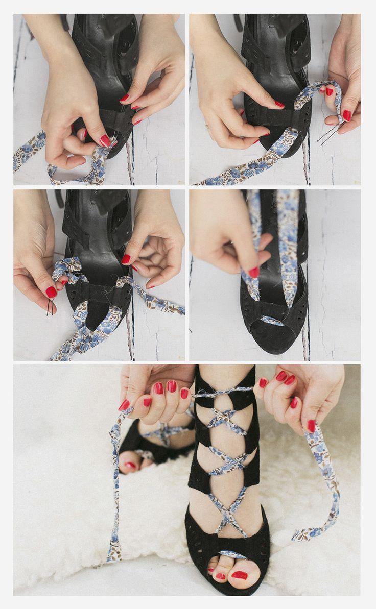 zapatos agujetas