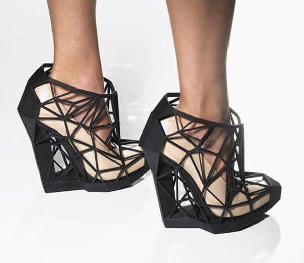 zapatos geometricos