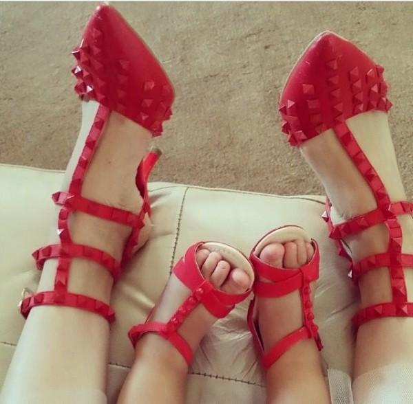 zapatos iguales