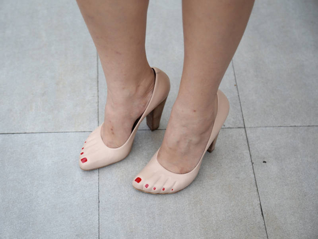 zapatos pies