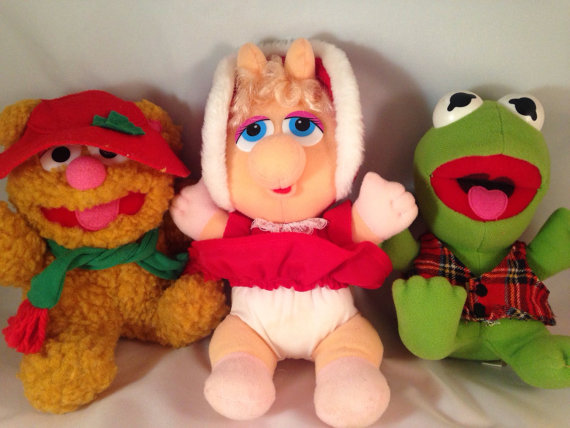 Holiday Muppet Babies from McDonald's
