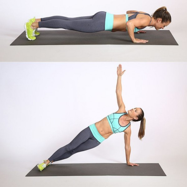 Rotational Push-Up