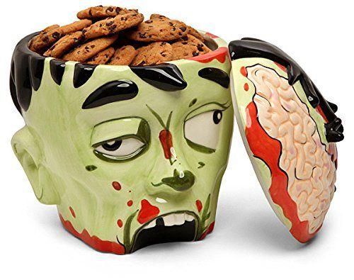 Zombie Head Cookie Ja