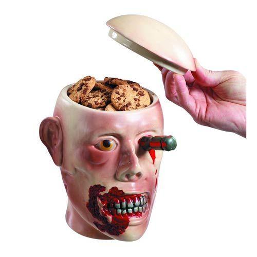 Zombie Head Cookie