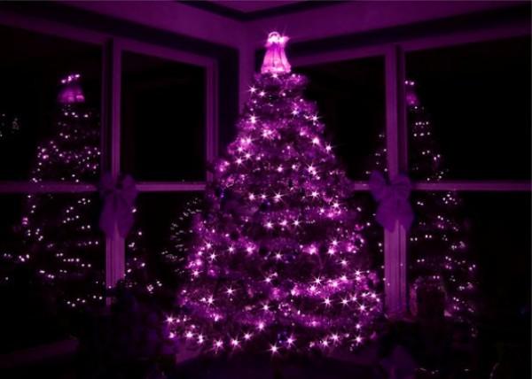 13 arbolitos de navidad relindos en los que hasta santa - Arbol de navidad morado ...
