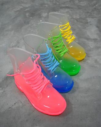 botas colores