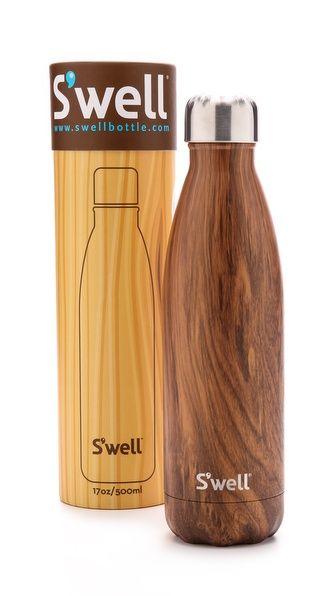 botella madera