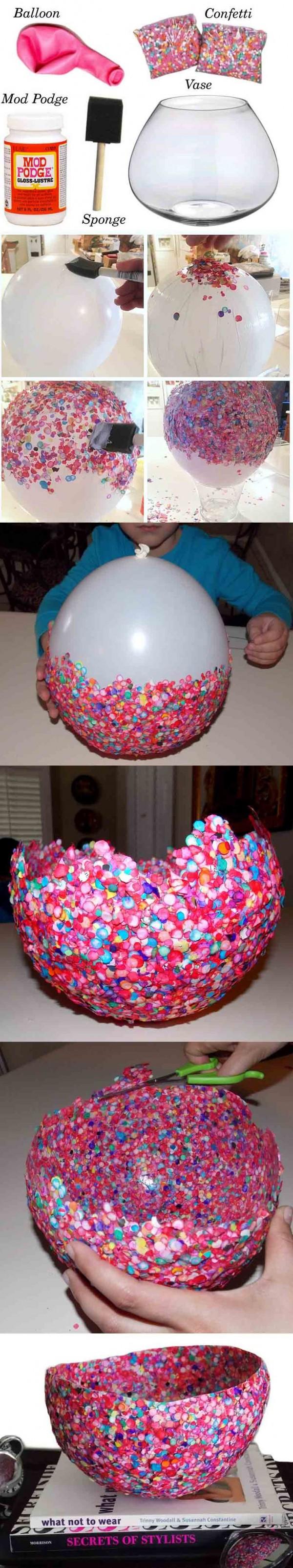 bowl confeti